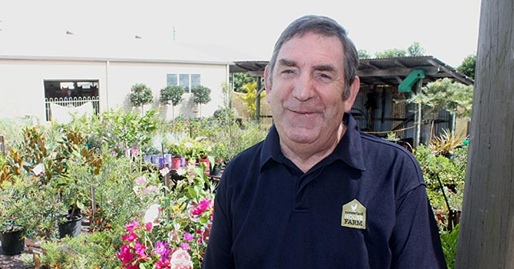 Peter Irwin has retired from Summerland House Farm after 28 years.