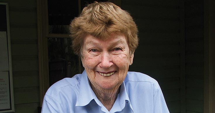 Former employee and volunteer Shirley Oag receives OAM