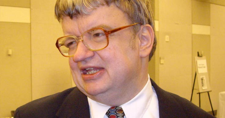 A photo of Kim Peek who has savant syndrome