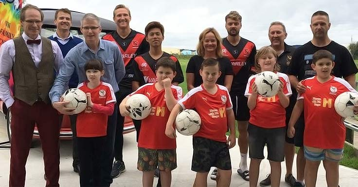 Arnett's Team gives kids with a disability a chance to learn soccer skills