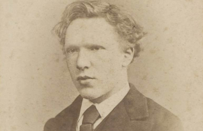 Early photograph of Vincent van Gogh