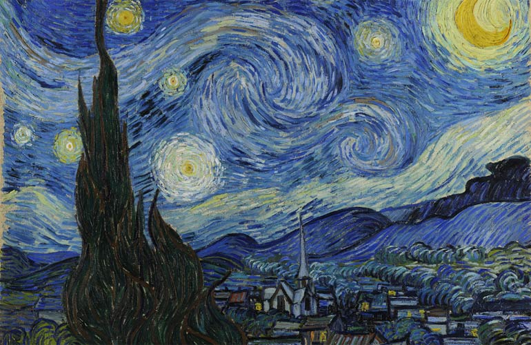 Vincent van Gogh's painting Starry Night