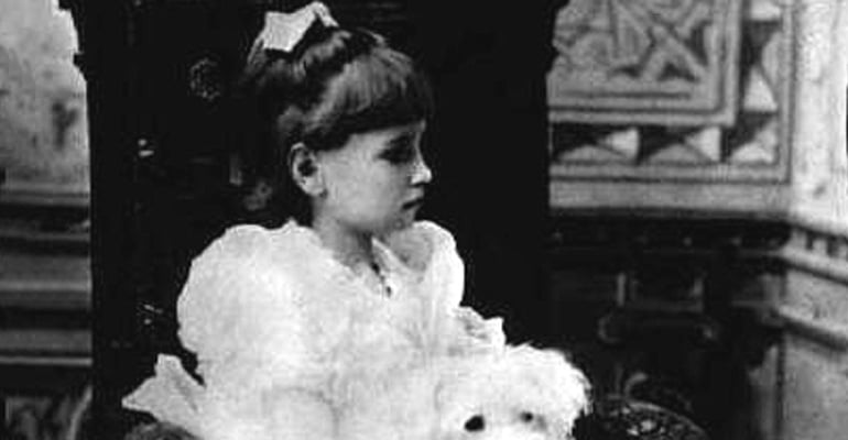 Helen Keller as a young child