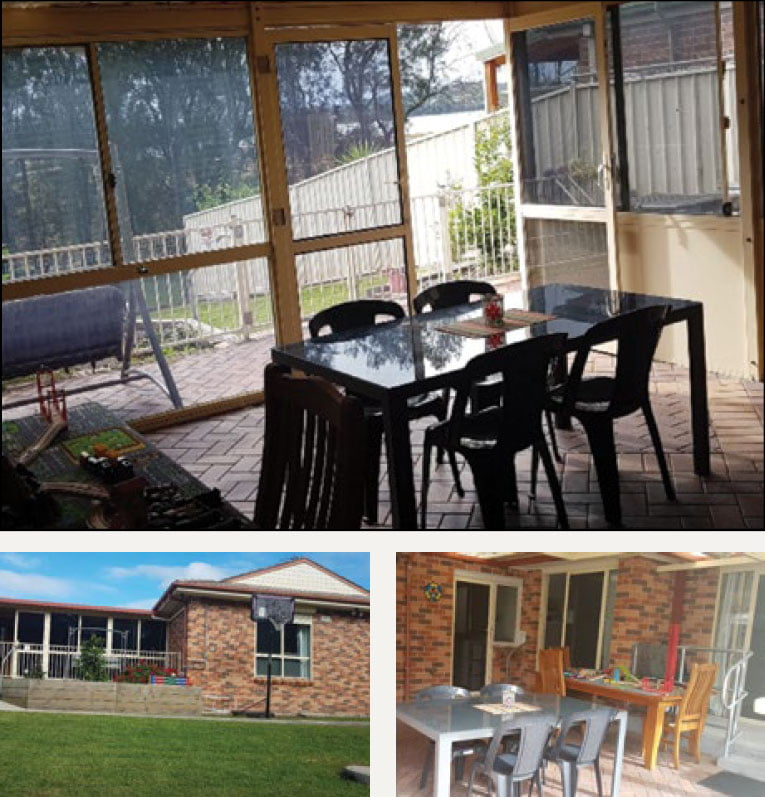 Pictures of the Albion Park property