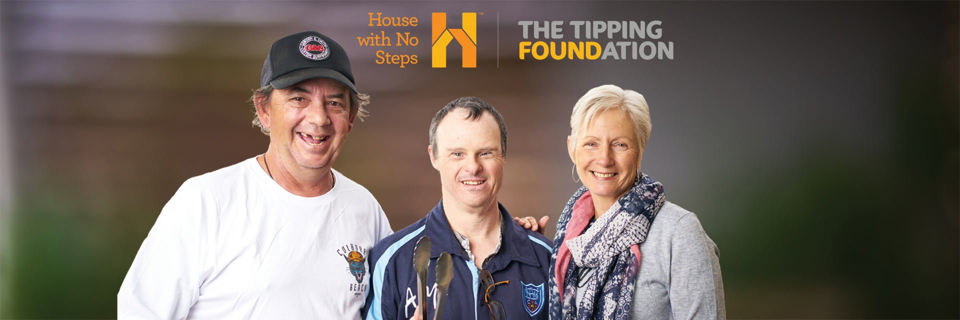 House with No Steps and Tipping unite