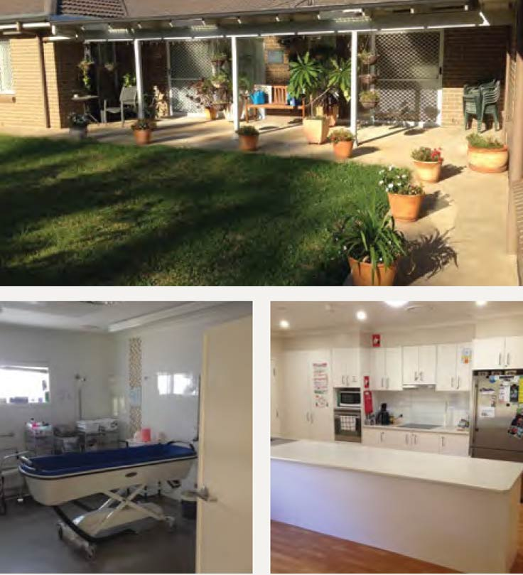 Pictures of the Tamworth property