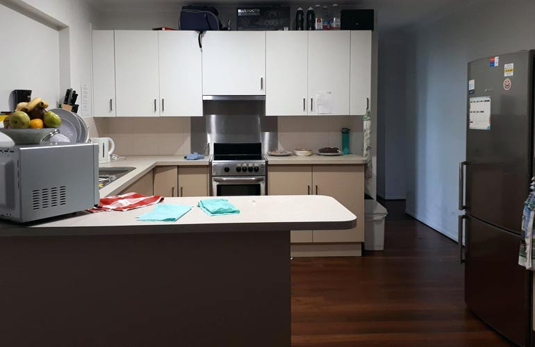 Kitchen of the Maroochydore property