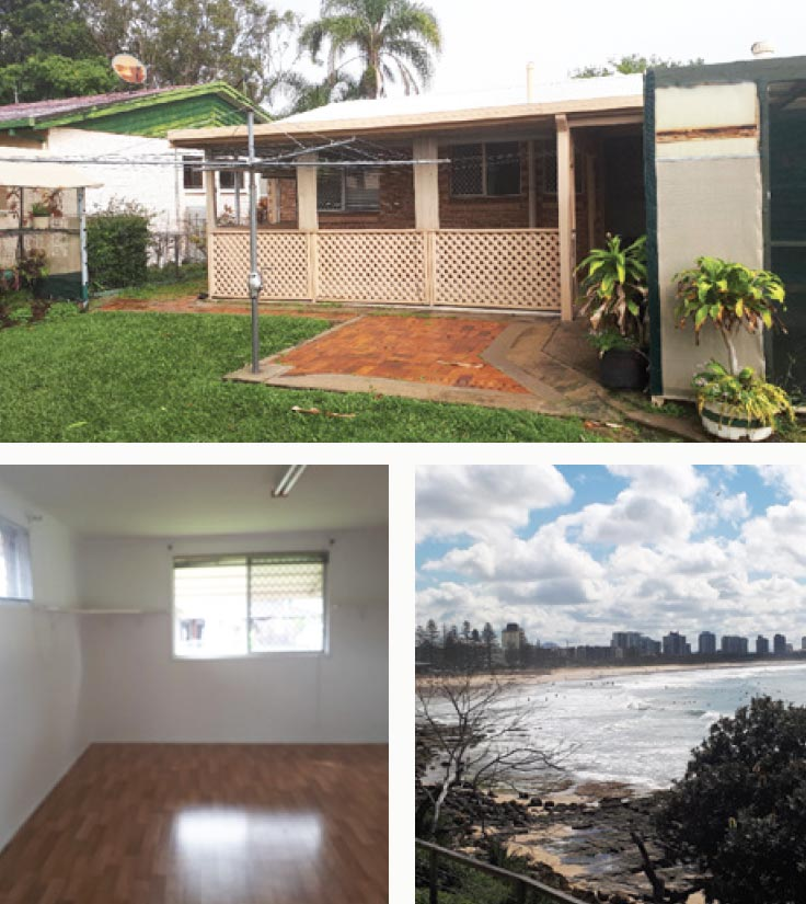 Pictures of the Maroochydore property
