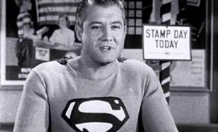 George Reeve playing Superman