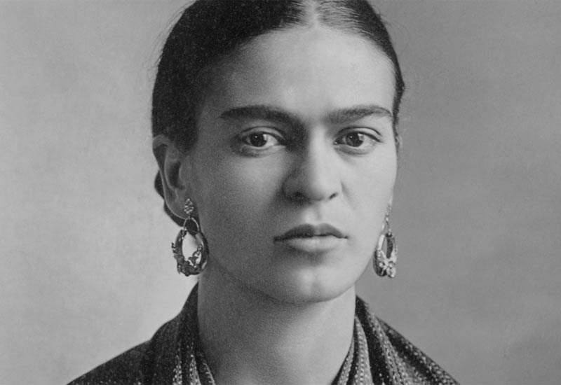 Kahlo in 1932, photographed by her father