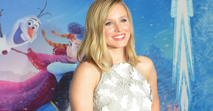 Kristen Bell at the premiere of Frozen