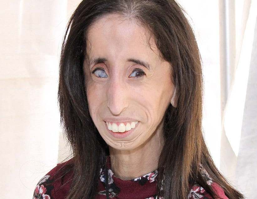 Motivational speaker and author Lizzie Velásquez at the 2017 Texas Book Festival.