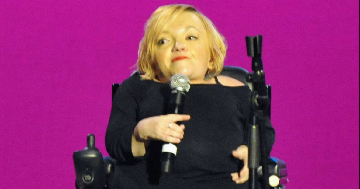 Stella Young performing at the Global Atheist Convention 2012 in Melbourne, Australia
