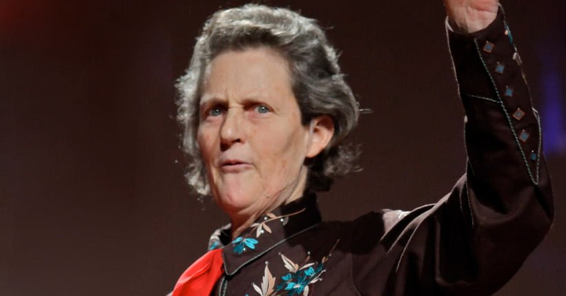 Temple Grandin's talk at TED 2010.